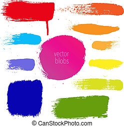Colorful Blots Set