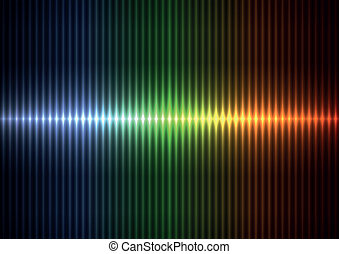 Colorful blur vertical stipes - Colorful vertical stipes