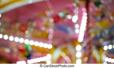 Colorful blured merry background with defocused pink...