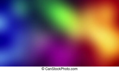 colorful blurred loopable background