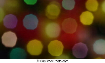 Colorful Bokeh Background 04