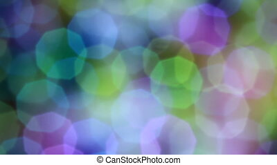 Colorful Bokeh Background 07