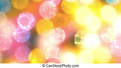 Colorful Bokeh Background 4K