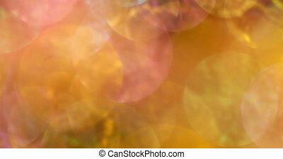 Colorful Bokeh Background in 4K