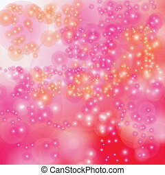 Colorful bokeh background. Vector EPS10.