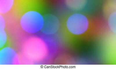 Colorful Bokeh Lights Background
