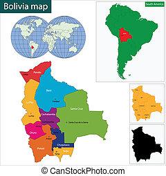 Bolivia map