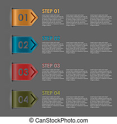 Colorful bookmarks steps for tutori