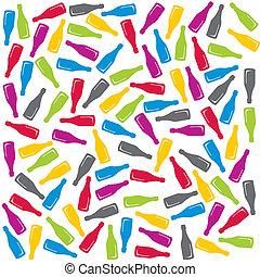 Colorful bottles