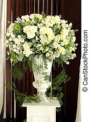 bouquet of spring flowers in vase