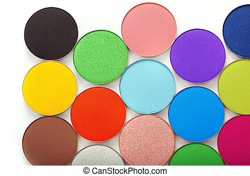 Colorful bright eye shadow - The image of colorful bright ...