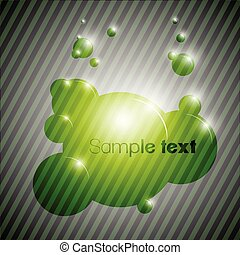Colorful bubble background eps10 vector