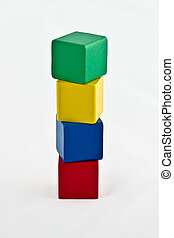 Colorful Building Blocks - Height