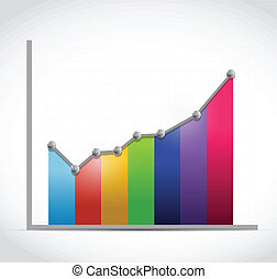 colorful business graph