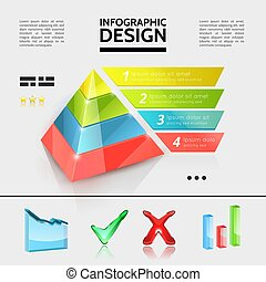 Colorful Business Infographic Elements Concept