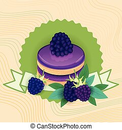 Colorful Cake Sweet Beautiful Dessert Delicious Food