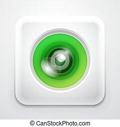 Colorful camera app icon