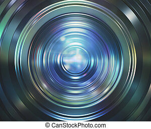 Colorful Camera Lens