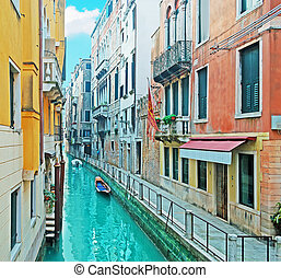 colorful canal