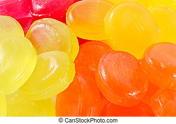 colorful candies background