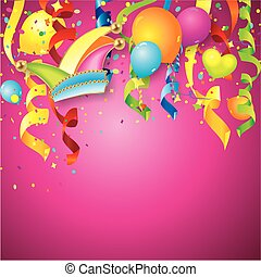 colorful carnival background