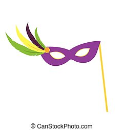 Colorful Carnival Mask