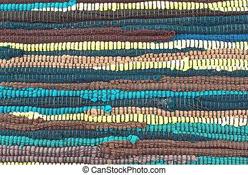 Colorful carpet texture background