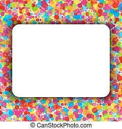 Colorful celebration background. Vector