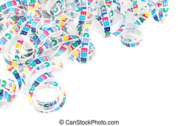 colorful celebration ribbon