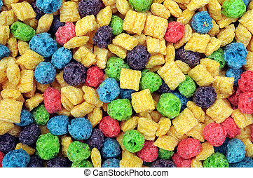 colorful cereal for background uses