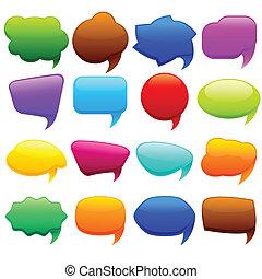 Colorful Chat Bubble