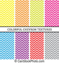 colorful chevron background