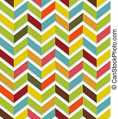 Colorful chevron seamless - Abstract seamless with colorful...