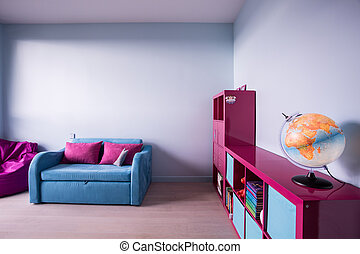 Colorful child room