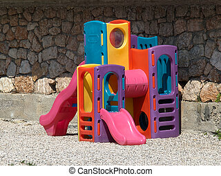 Colorful children playground