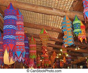 Colorful Chinese Lanterns
