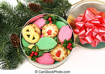Colorful Christmas Cookies - Gift