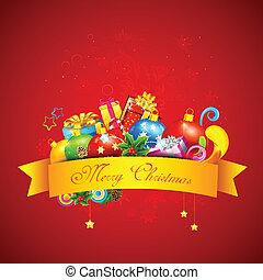 Colorful Christmas Gift
