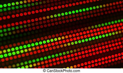Colorful Christmas lights animation background