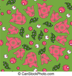 Colorful christmas pattern