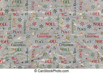 Colorful Christmas Wrapping Paper