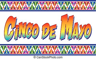 Colorful Cinco de Mayo Banner