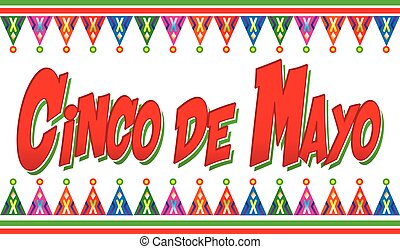 Colorful Cinco de Mayo Logo Graphic