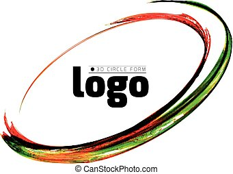 Colorful circle vector illustration