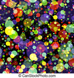 colorful circles background seamless