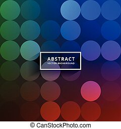 colorful circles pattern vector background