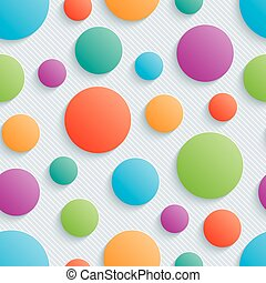 Colorful circles walpaper.