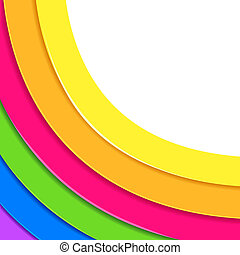 Colorful Circular Backgound - illustration of colorful...