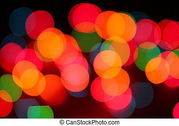 colorful circular bokeh background