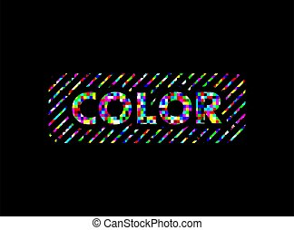 colorful color symbol